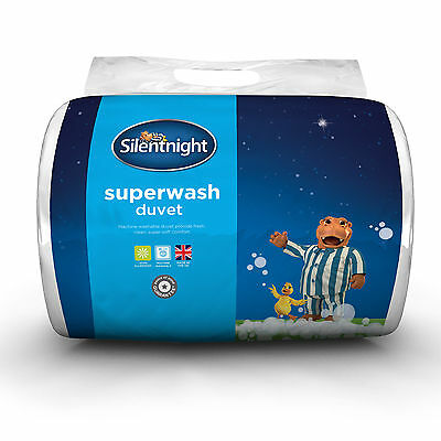 Silentnight Superwash Duvet - 13.5 Tog - King