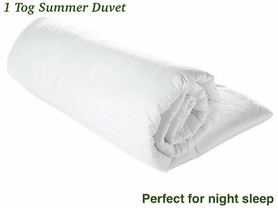 Summer Cool 1TOG Duvet / Quilt  Light & Soft Slightly Second
