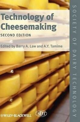 Technology of Cheesemaking 2E by Law Hardcover Book (English)