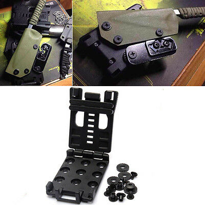 EDC Multi Function K Sheath Scabbard Belt Clip Waist Clamp For Camping Hunting