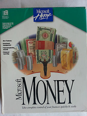 "Microsoft Money Version 3, for IBM & Compatible PC'S – (3.5"" Discs Sealed)"