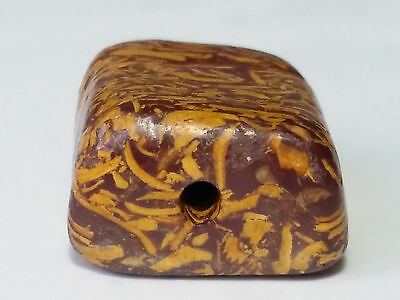 Ancient Large Fossil Stone Bead