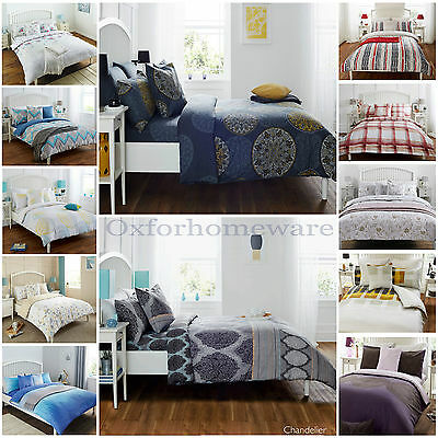 100% Cotton&Poly 4pcs Complete Set Duvet Cover with Fitted sheet and Pillow case