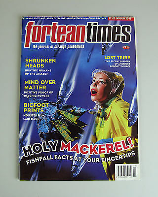 Fortean Times #106  January 1998 / Shrunken Heads, Lost Tribes , Fishy Facts