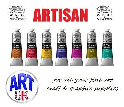 Winsor & Newton ARTISAN WATER MIXABLE OIL COLOUR 37ml Tubes of Artists Paint