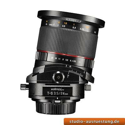 walimex pro 24/3,5 T-S DSLR Canon EF by digital photographs