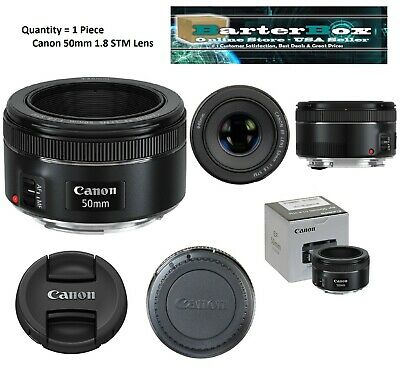 Easter Sale Canon Ef 50mm f/1.8 Stm Lens 0570C002 Clearance Deal retail Box