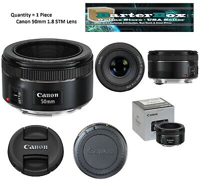 Memorial Sale Canon Ef 50mm f/1.8 Stm Lens 0570C002 Clearance Deal retail Box