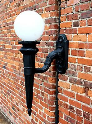 Big Wall Sconce for Outdoor Garden Lighting Victorian Architectural Lamp Fixture