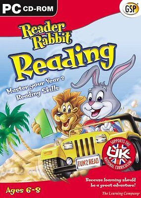 Reader Rabbit Reading, Ages 6-8 (PC-CD) NEW SEALED LEARNING