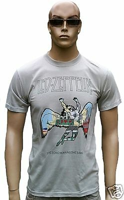 Official LED ZEPPELIN Merchandise Swan the Song Remains the Same T-Shirt g.S/M