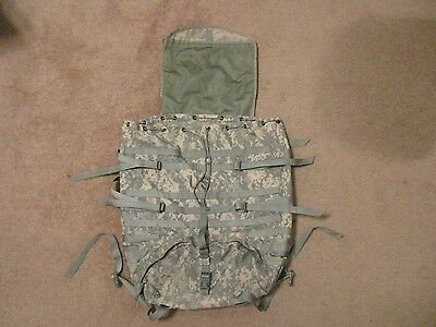 Large MOLLE II Rucksack Digital Camo Military Issue USGI Good