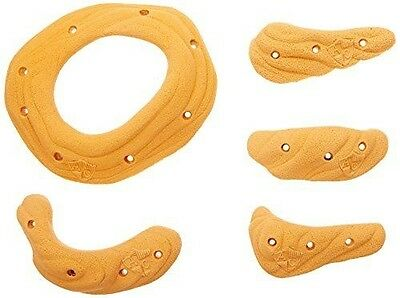 Atxarte Sandstone Screw-On Climbing Holds, Orange