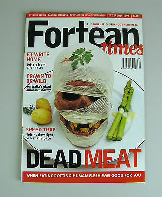 Fortean Times #124  July 1999 / Dead Meat, Cannibal Tales