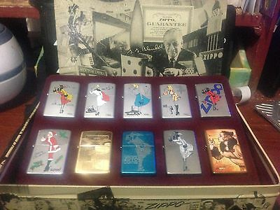 Zippo Lighter - RARE Windy collection - New in collectors tin. Set of 10