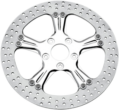 Performance Machine PM Wrath Chrome 11.5 Left or Right Front Brake Rotor Harley