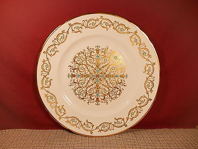Tuscan/Royal Tuscan Fine China Louise Pattern Dinner Plate 10 1/2""