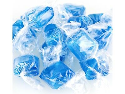 Ice Blue Mints Peppermint Mints bulk wrapped hard candy 1 pound