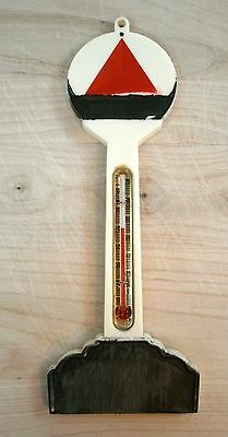 Vintage Citgo Thermometer Plastic From Service Garage or Store USA Made 1965-70