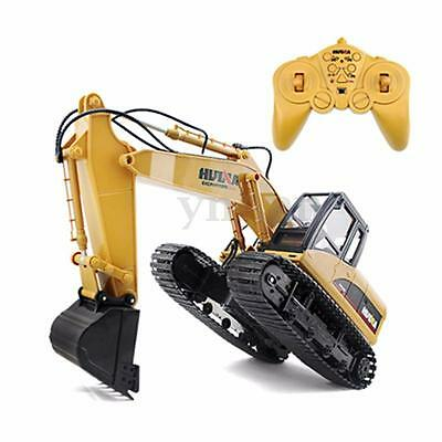15 Channel Excavator 1/12 RC Car Construction Digger Toy Fun Children Kids Gift