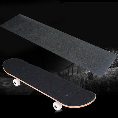 "33""X9"" Waterproof Sandpaper Skateboard Deck  Grip Tape Griptape Skating Board"