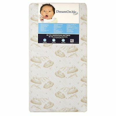 Dream On Me Spring Crib and Toddler Bed Mattress, Twilight