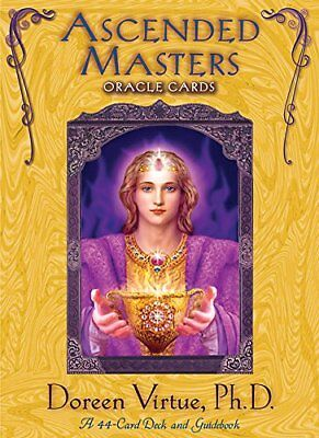 Ascended Masters Oracle Cards: 44-Card Deck and guidebook, Doreen Virtue