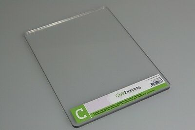 Die-Cutting Embossing - C PLATE- Single ADAPTER For Cuttlebug 6998