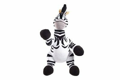 """Madagascar 3 Official License Gift Quality 23cm 9"""" Plush Toy - Marty the Zebra"""