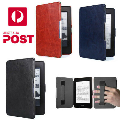 For Kindle Paperwhite Premium Slim Magnetic PU Leather Case Cover Auto-Sleep AU