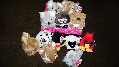 Puffkins Lot of 12 NWT New with Tags sheep dog owl parrot seal