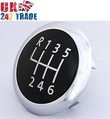 Genuine Gear Knob Cap Chrome Badge Vw Passat B6 Cc B7 6-Speed 3C0711144A