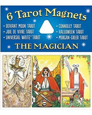 NEW 6 Tarot Magnets The Magician