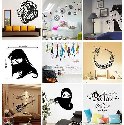 Family DIY Removable Art Vinyl Wall Stickers Decal Words Mural Home Decor