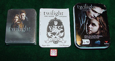 Twilight The Movie Card Game - Collectable Tin with Sealed Cards