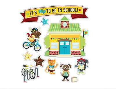 CD ITS HIP TO BE IN SCHOOL Bulletin Board Set (110334)