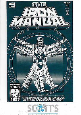 Iron Manual  #1  VF+