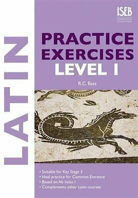 Latin Practice Exercises Level 1 (Practice Exercises... by Bass, R. C. Paperback