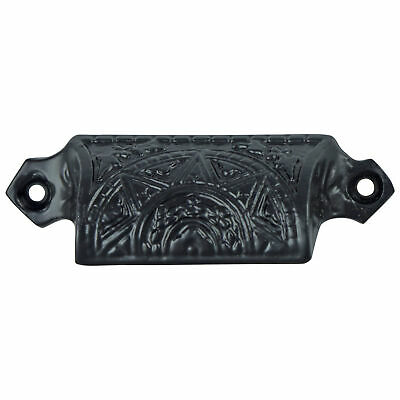 Cast Iron Bin Pull Antique Hardware replica Victorian vintage style