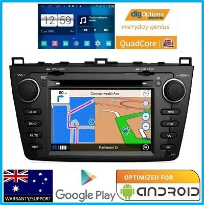 'For Mazda 6 GH 2008-12 Platinum Series GPS Car Bluetooth DVD Stereo Navigation