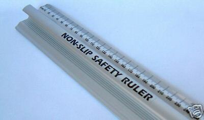 Non Slip Safety Ruler - 600mm.......... others: 450mm, 500mm &1000mm available