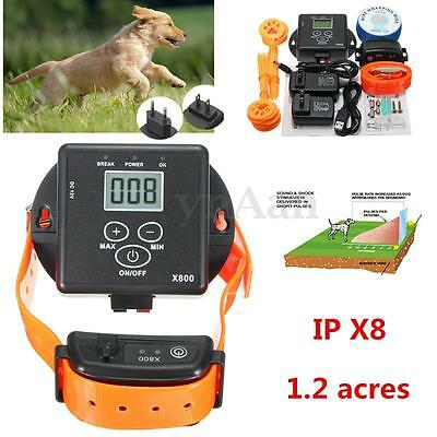 Pet Dog Electric Wireless Fence Containment System Waterproof Fencing Collar