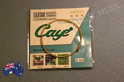Brand New single Acoustic Guitar String A-5