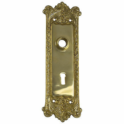 Classic Door Back Plate Hardware solid brass vintage hardware antique sty