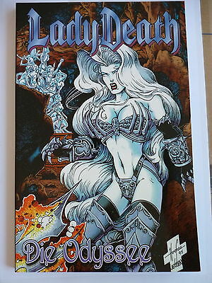 1x Chaos Comic - LADY DEATH - Die Odyssee (Softcover) - Zustand Sehr Gut