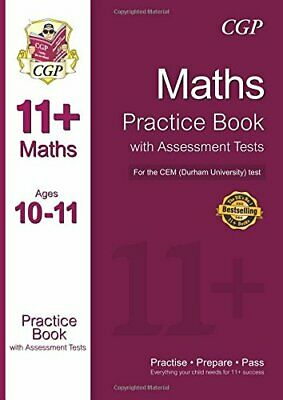 11+ Maths Practice Book with Assessment Tests (Ages 10-11) for t... by CGP Books