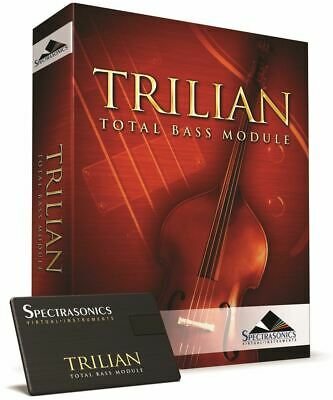 Spectrasonics Trilian Boxed + USB Drive Virtual Bass Synth Synthesizer Software