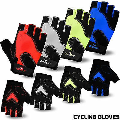 Cycling gloves Fingerless Half Finger Gloves Bike Riding Mitts Gloves