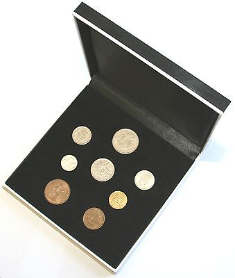 1962 Complete British Coin Set in a Specially Designed Quality Presentation Case