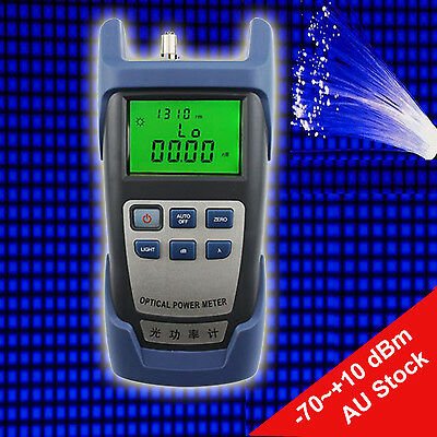 Optical Power Fiber Meter -70~+10 dBm Optical Fiber Power Meter Measuring Device